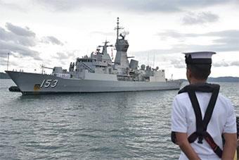 澳大利亚海军真忙:广派军舰访问日本马来西亚
