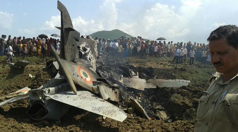 印空军今年已摔8架战机 最高记录一年摔了52架