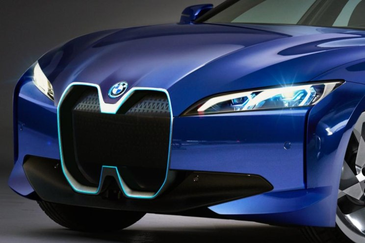 外媒曝光宝马i4假想图 大部分还原早前概念车设计