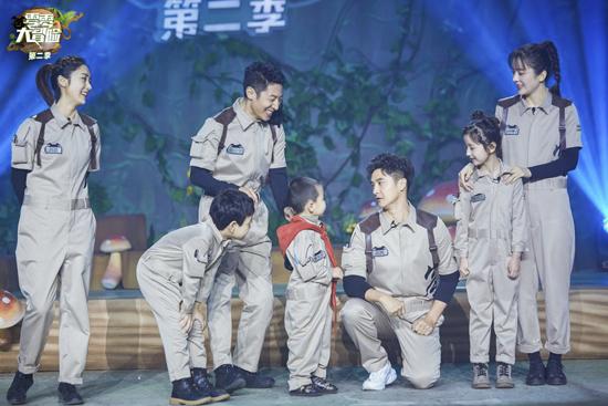 《零零大冒险2》今日回归 撒贝宁刘芸鼓励青克乐