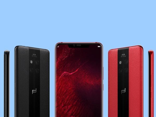 新一代华为保时捷设计手机的最大亮点莫过于后壳外形,进口牛皮材质