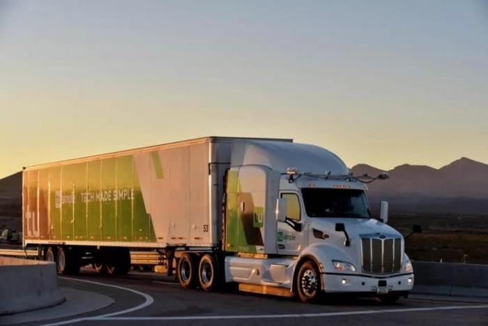 图森未来获国内首张自动驾驶卡车路测牌照