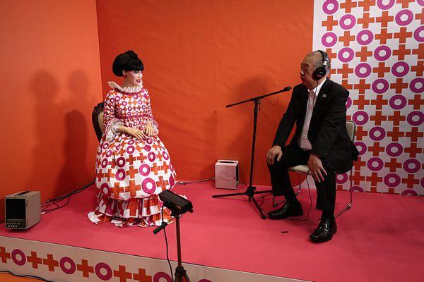 """世界机器人峰会在东京召开 机器人""""盛装打扮""""参展亮相"""