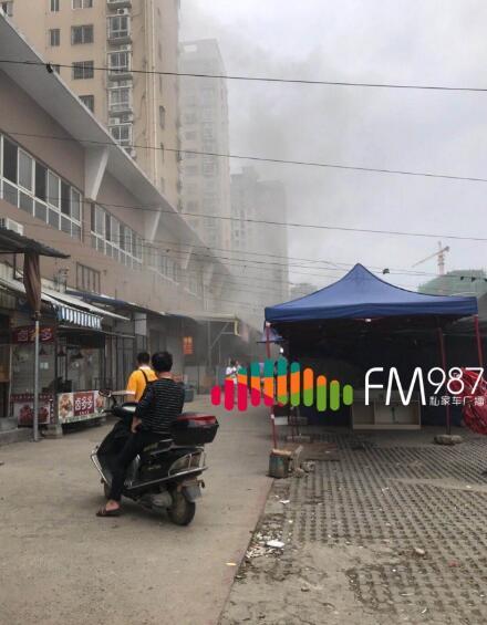 福州仓山浦道路,包子店突发火灾,消防及时到场