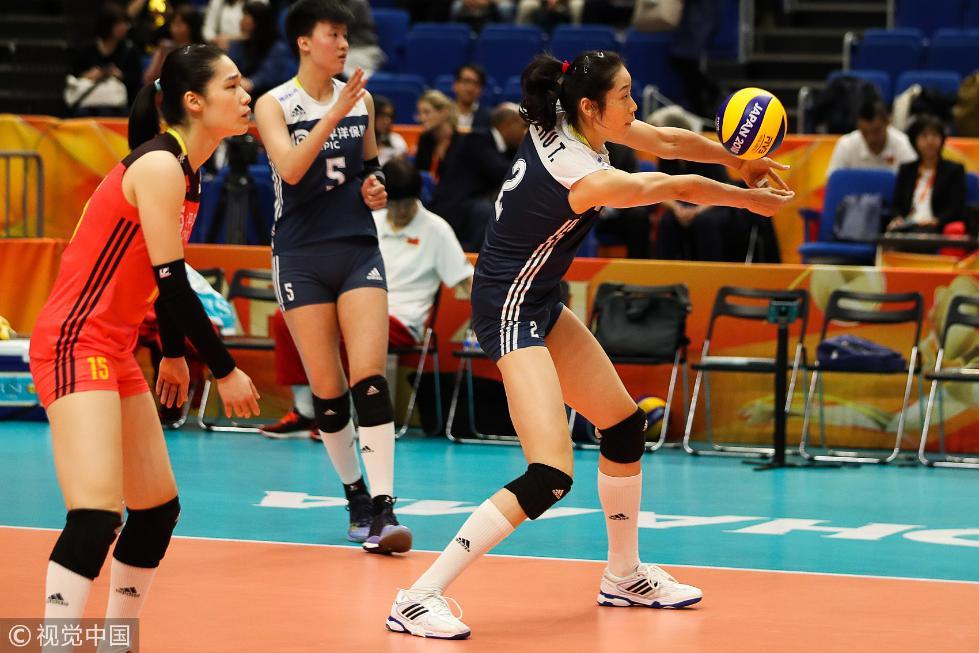 好样的!中国女排3-0胜荷兰 拿下2018女排世锦赛季军