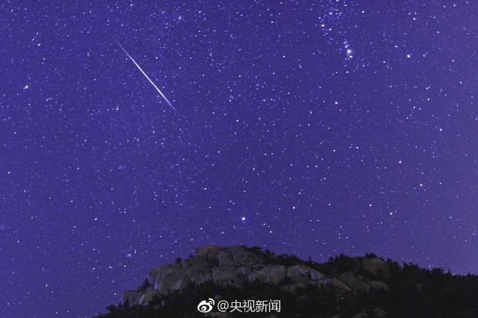 21日凌晨,一起看猎户座流星雨!