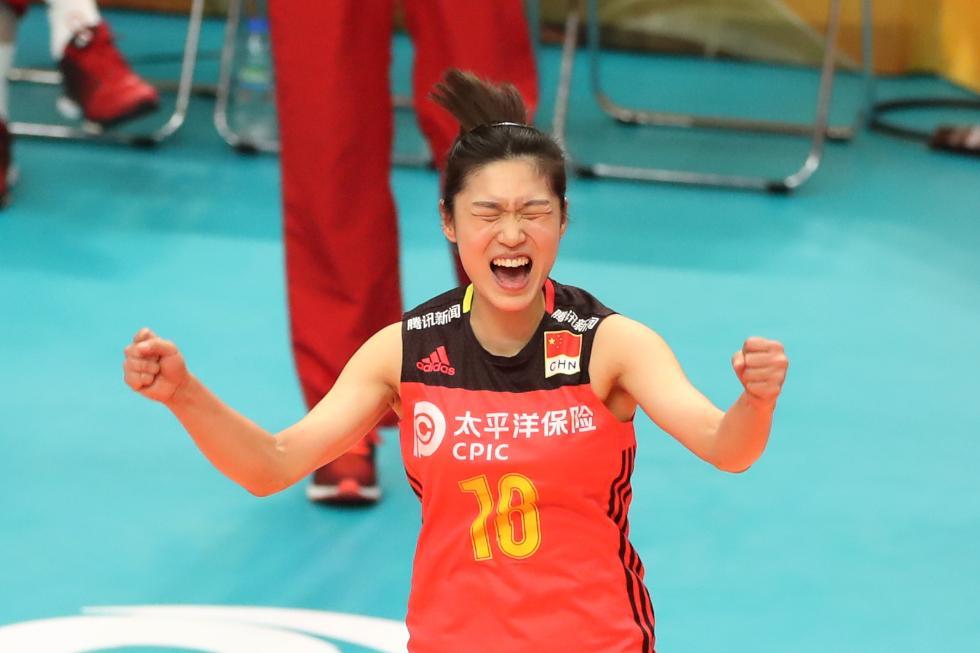 女排世锦赛:中国队获季军