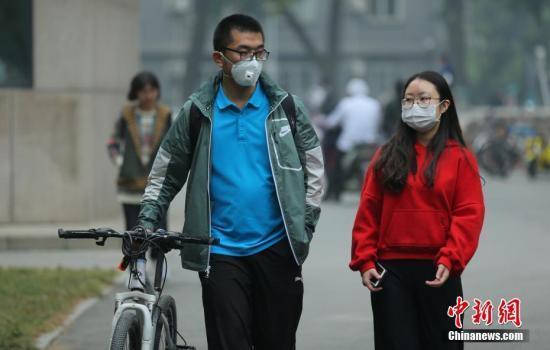 北京今日空气质量将达中度污染 霾明日逐渐消散