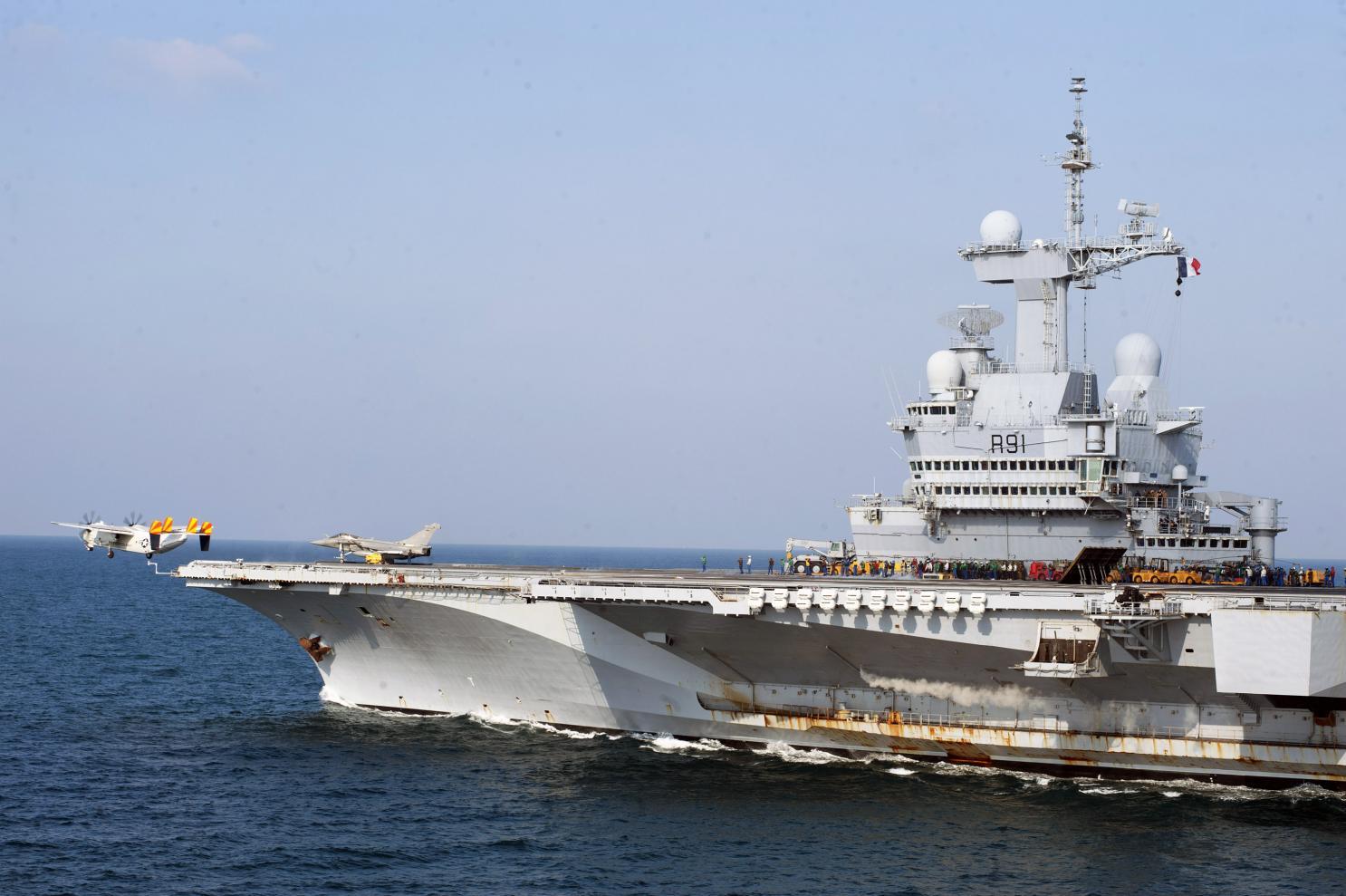 """法航母刚大修完 就要赴印度洋捍卫""""航行自由"""""""
