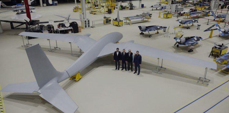 土耳其最新大型无人机曝光 土副总统亲自视察