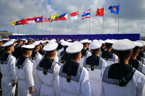 """中国-东盟海上联演揭幕,""""三个首次""""意义重大"""