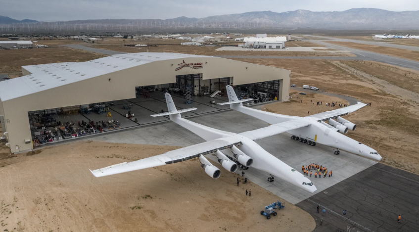 全球最大飞机完成滑行测试 可保罗·艾伦却没看见