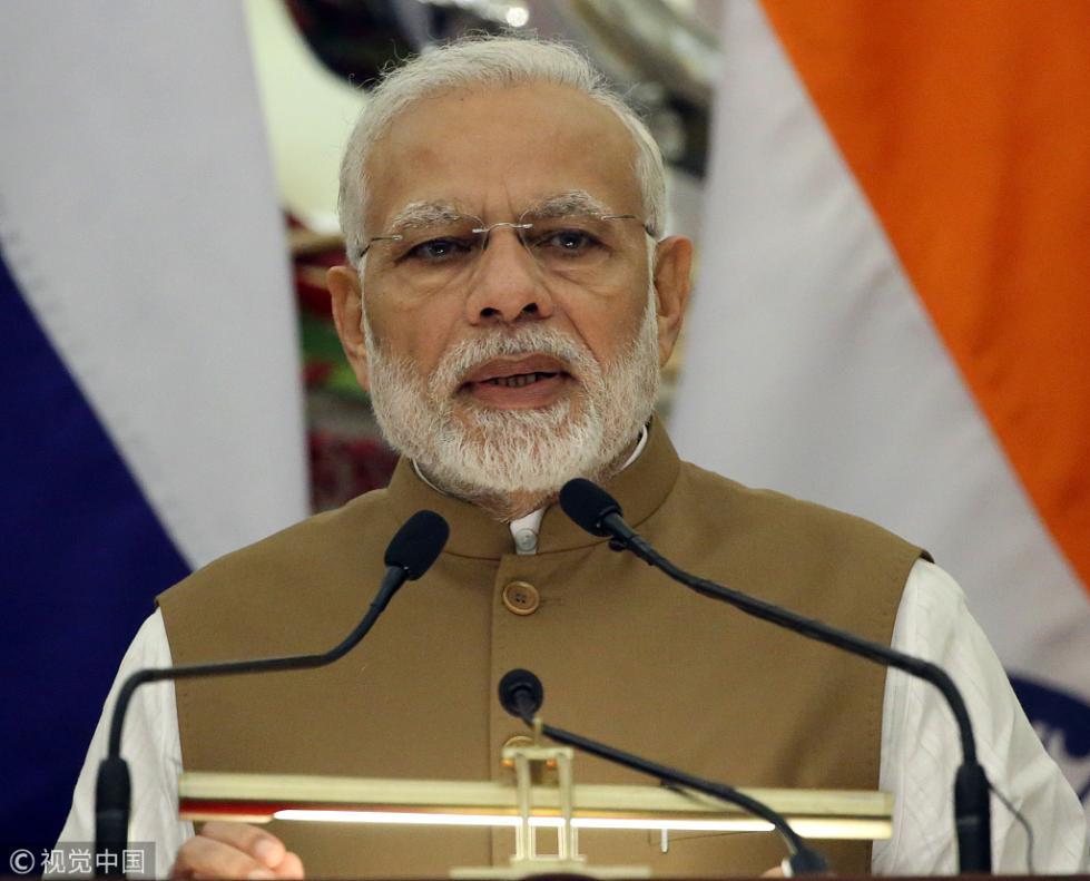 印度军备不断升级 莫迪:将对威胁者加倍还击