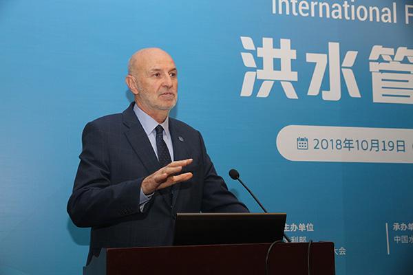 """国际洪水管理大会主席:增强城市""""韧性"""",适应气候变化挑战"""