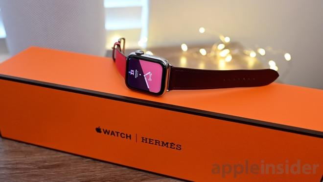 卖1万的爱马仕版Apple Watch开箱:包装常规