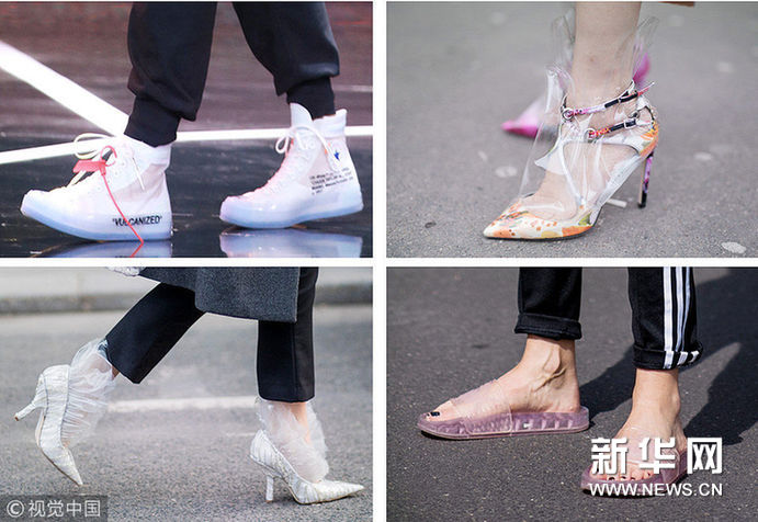 阴雨绵绵的梅雨季 还好有这双塑料鞋助你前行