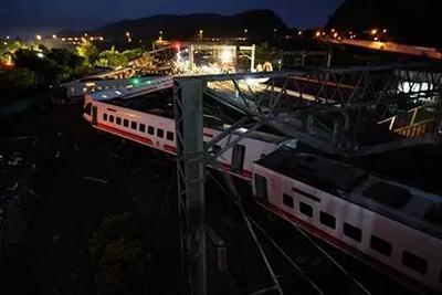 台铁事故已致22死187伤 列车自日本引进、转弯可不减速