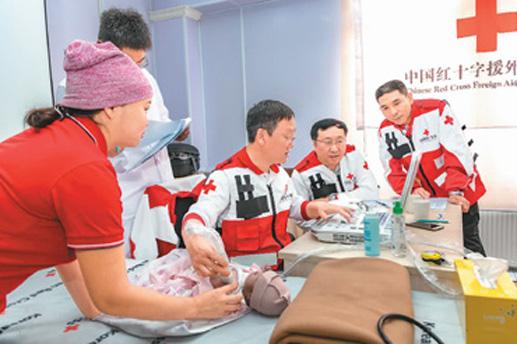 援外医疗救助蒙古国心脏病患儿