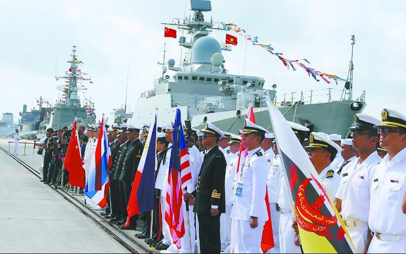 中国-东盟海上联演开启里程碑 创造了3个首次