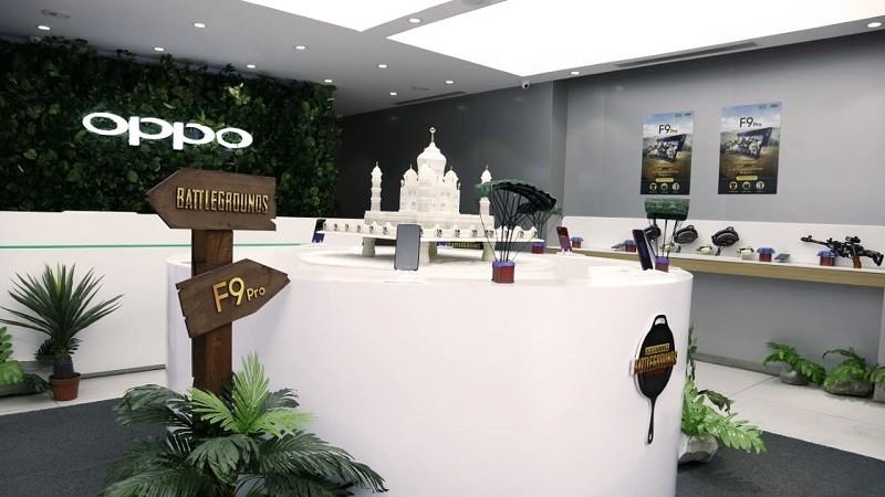 OPPO在班加罗尔推出首家《绝地求生》主题体验店