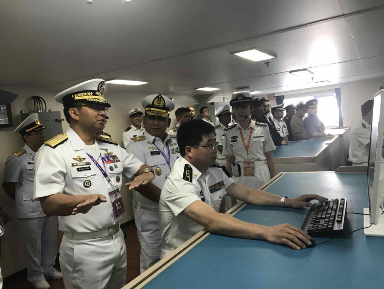这艘舰艇为何能让东盟军队观摩团鼓掌