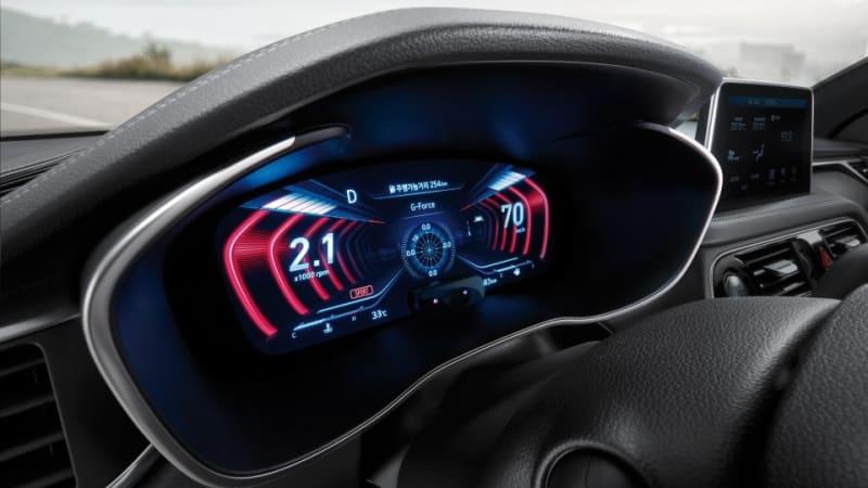 捷恩斯发布全球首款3D数字仪表盘 G70试水