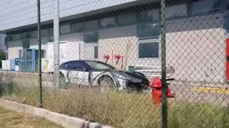 法拉利SUV车型Purosangue原型车测试遭曝光
