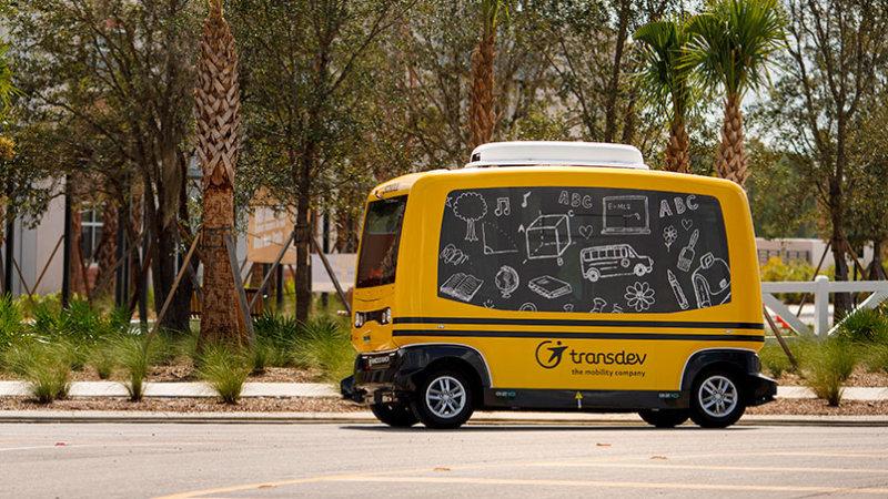 无人驾驶校车佛罗里达非法路试 被交管局叫停