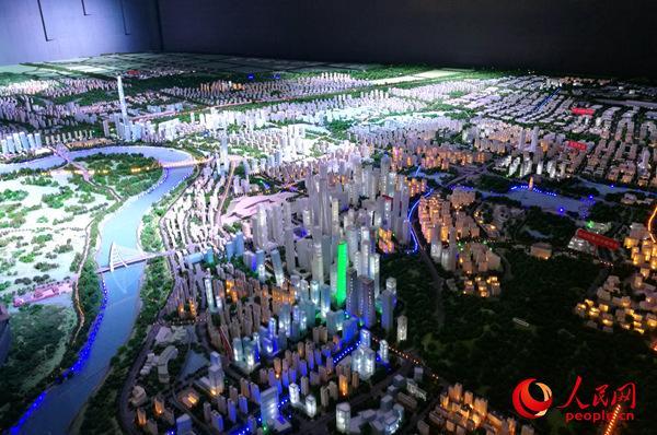 广西南宁五象新区:蓝图变为现实 再造一个新南宁