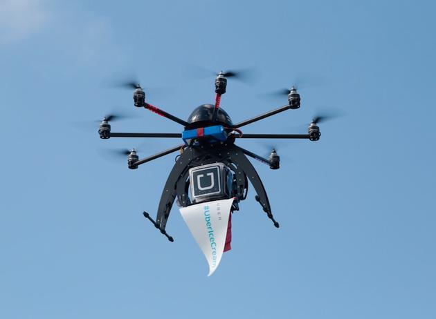 招聘无人机主管 Uber筹划2021年前建无人机配送业务