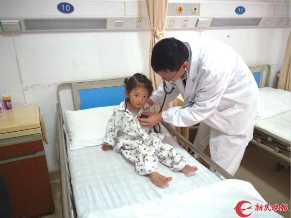 """""""手术后我想回学校读书!"""" 青海果洛3名患儿在沪接受爱心先心病手术"""