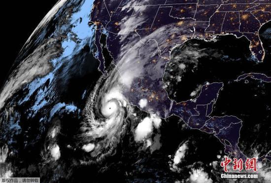 """飓风""""威拉""""增强至5级 将登陆墨西哥西部海岸"""