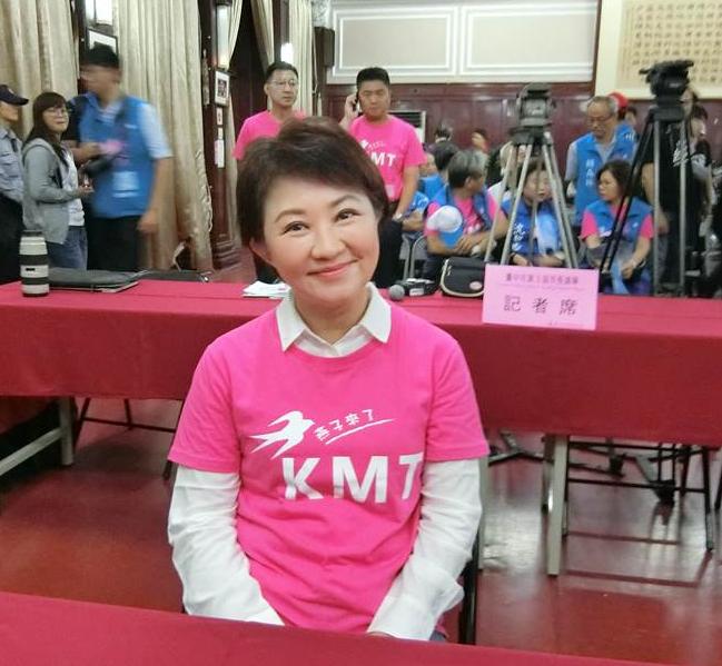 最新民调:台中市长选举支持度卢秀燕44%林佳龙36%