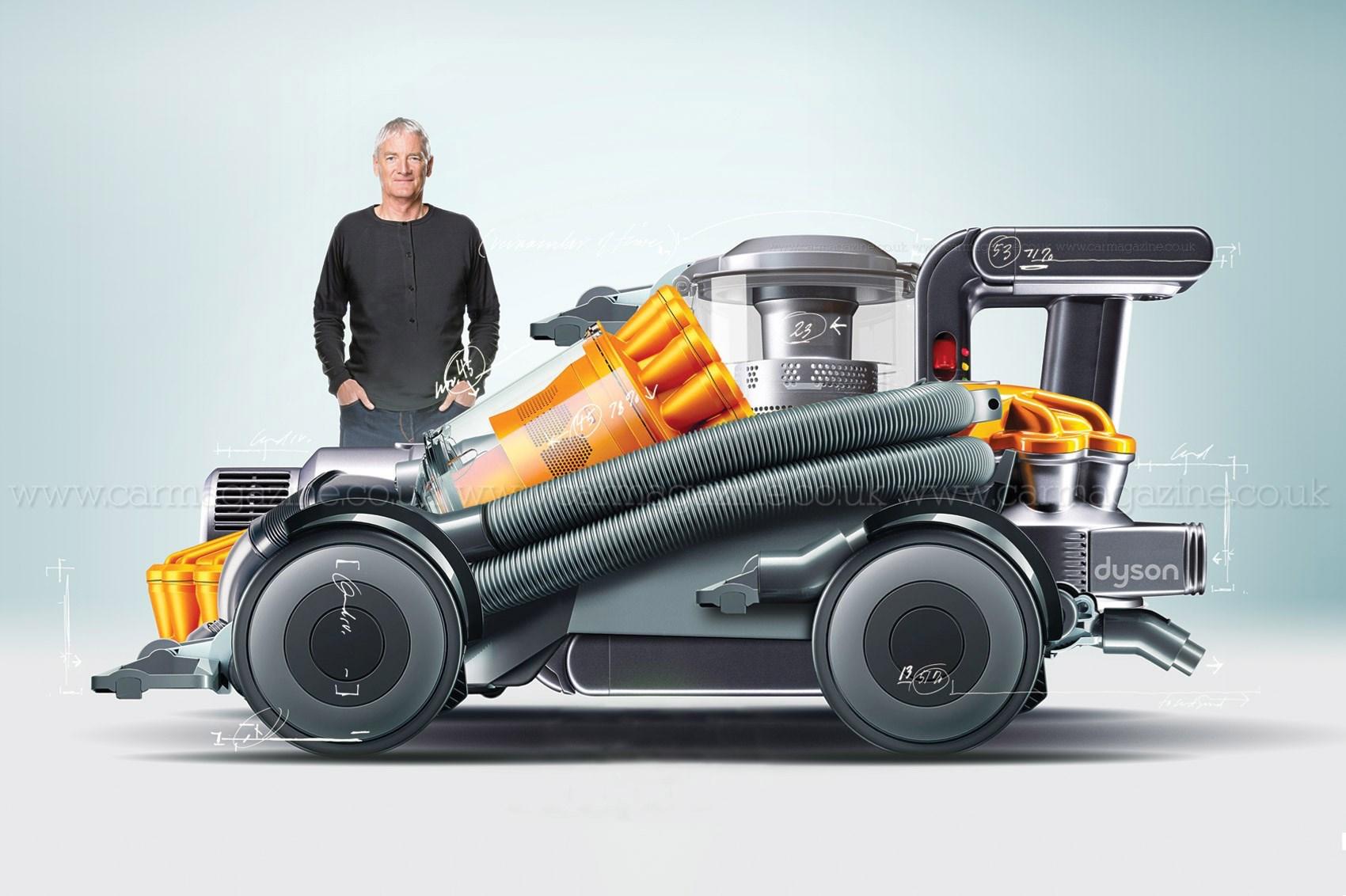 以吸尘器著称的戴森要在新加坡造电动车