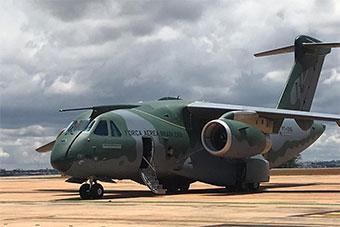 巴西自研最大运输机获得巴西国内型号证书
