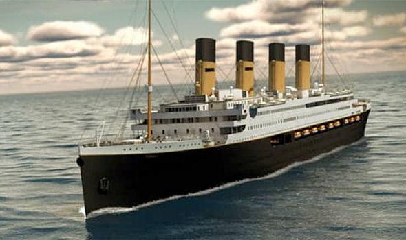 """复刻的""""泰坦尼克号II""""邮轮可能在2022年开始起航"""