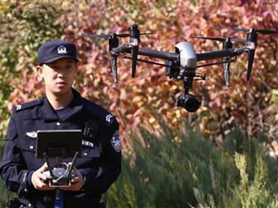 无人机保驾护航 候鸟安全返乡