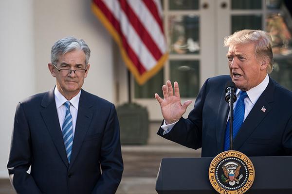 特朗普繼續怒懟美聯儲主席:每一次我們想做點好事,他就加息