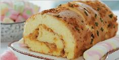 学习制作香葱肉松蛋糕卷