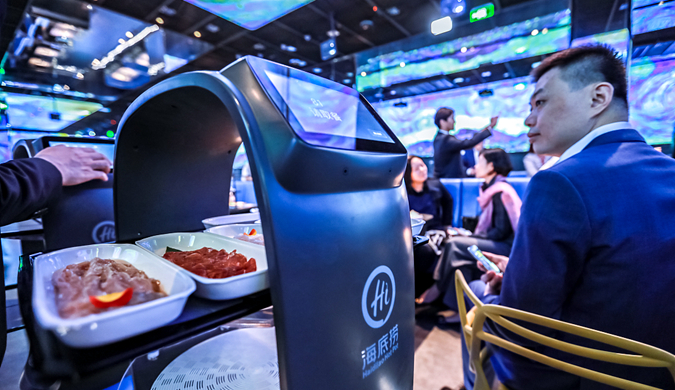 海底捞全球首家智慧餐厅 私人订制锅底将上线