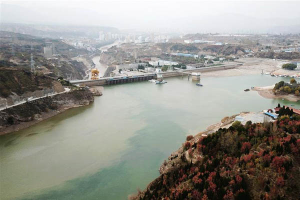 刘家峡水库调整出库流量支援黄河流域冬灌