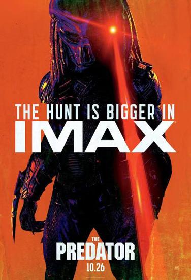 《铁血战士》IMAX效果获赞 肌肉爽片震撼来袭