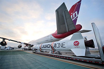 这款商用运载火箭可以使用747客机发射