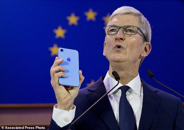 苹果公司CEO库克呼吁美国制定隐私法