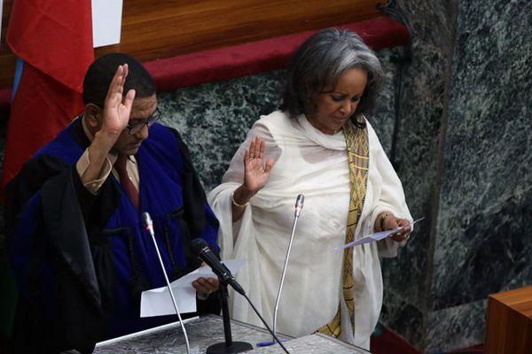 埃塞俄比亚选出该国史上首位女总统