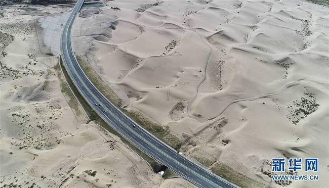 西藏首个国家沙漠公园建设中(组图)