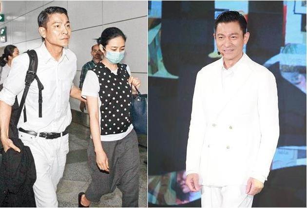 刘德华牵着女儿陪老婆回马来西亚娘家祭祖