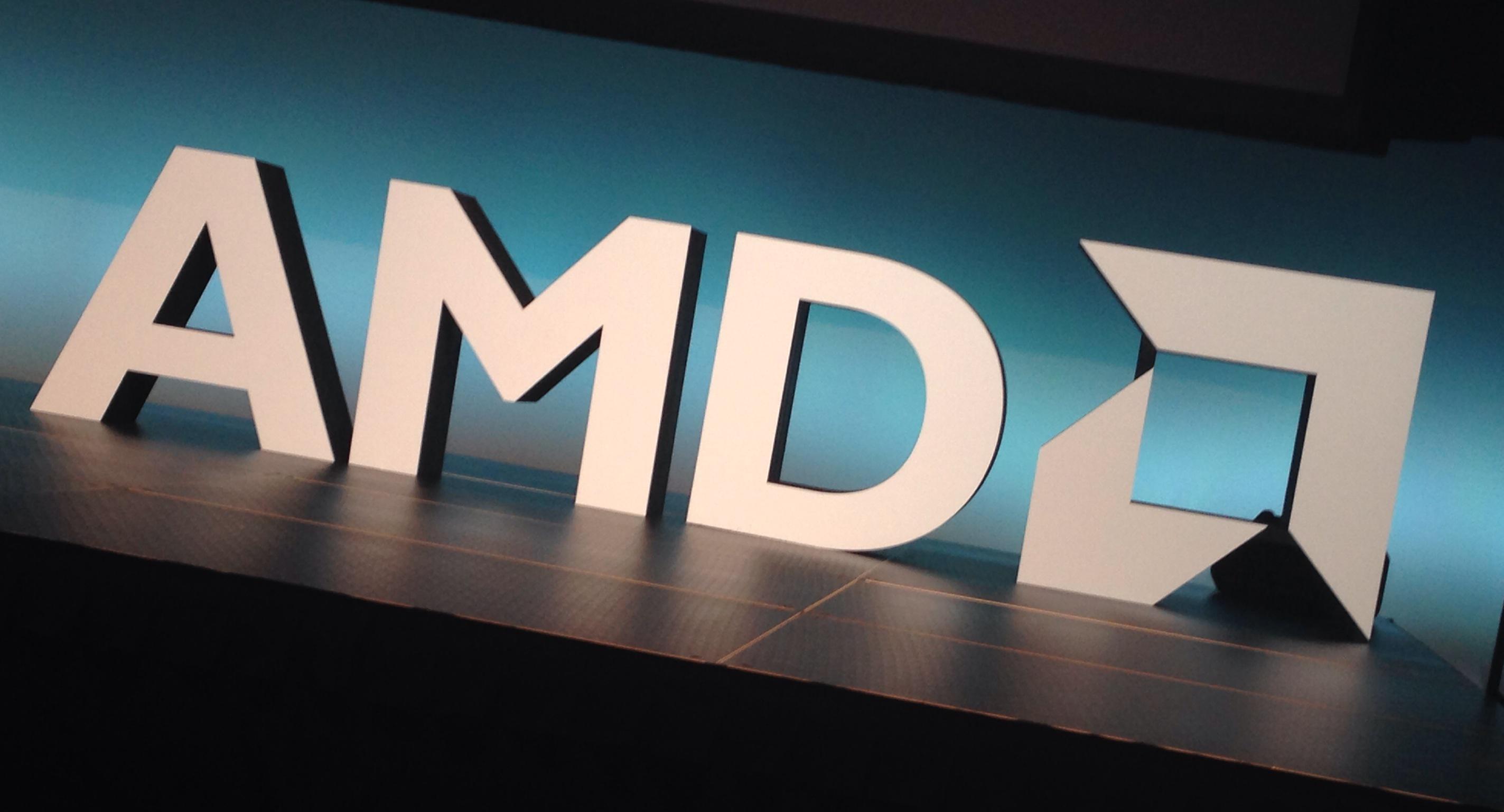 AMD季度业绩不及预期:股价下跌22%四年中最惨