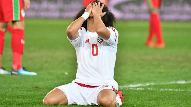 """奥马尔韧带撕裂 """"海湾梅西""""将缺席明年亚洲杯"""