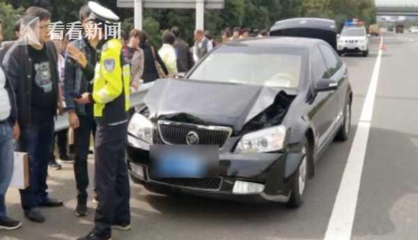运送移植器官车辆出车祸 高速交警火速相助